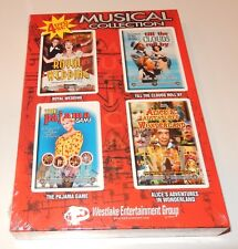 4 Musical Collection DVD 4 Discs Pajama Game Royal Wedding Clouds Roll By Alice