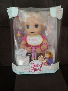 Hasbro 2006 Baby Alive Doll She Really EATS & POOPS  NEW IN DAMAGED BOX