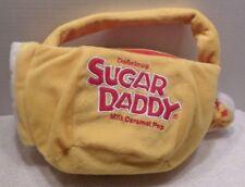 Plush Trick or Treat Bag Delicious SUGAR DADDY Milk Carmels EUC Halloween Yellow