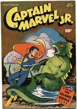 CAPTAIN MARVEL JR. #51 (1947) VF 8.0  DELL GOLDEN AGE