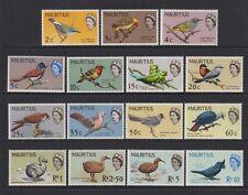 Mauritius - 1965, 2c - 10r Vögel Komplettes Set - MNH - Sg 317/31