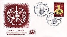 Belgien 1720 FDC, 25 Jahre Weltgesundheitsorganisation-WHO