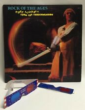 Rock Of The Ages Rock and Roll From The Third Dimension With 3D Glasses Lp
