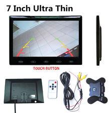 """7"""" Ultra Thin 16mm 16:9 HD TFT LCD Screen Car Rear View Backup Parking Monitor"""