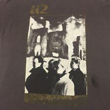 Vintage 1985 U2 Unforgettable Fire Concert T-shirt 2-sided Tour Bono Rock Band