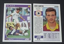 212 GARZYA AS ROMA FOOTBALL CARD 92 CALCIATORI 1991-1992 CALCIO ITALIA SERIE A