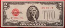 Uncirculated 1928 U.S. $2 Red Seal Note