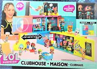 L.O.L. Surprise Clubhouse Playset 40+ Surprises 2 Exclusives Dolls Play Doll Lol