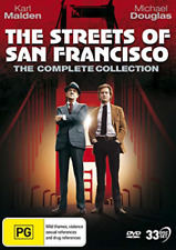 The Streets of San Francisco   Complete Collection - DVD Region 4