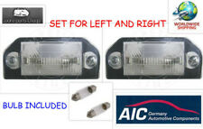 A.I.C.VOLKSWAGEN License Plate Light Assembly VW PASSAT B5 96-00 3B0943021