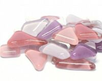Crystal Glass Mosaic Irregular Shaped Tiles 3x100g Packs Many Colours  P&P INC