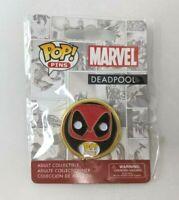 New Funko Pop Pins Marvel Deadpool Face Enamel FP20
