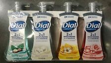Dial Complete 2 in 1 Foaming Hand Soap 4Pk -7.5 fl oz New.