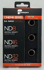 Polarpro DJI Mavic pro (Platinum) nd filtro set cinema series shutter Collection