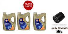 3 LITRI OLIO MOTORE + FILTRO OLIO PIAGGIO X9 500 01/03