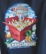Mens Tshirt Corona Extra Beer Perfect Present Christmas 2006 Med Carbon