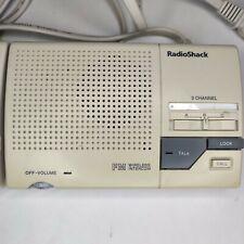 1 Radio-Shack 43-490 3/2 way FM Radio Intercom System Single Unit (2 available)