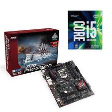 COMBO: Intel Quad Core i5-7600K Kaby Lake CPU & ASUS Z170 PRO GAMING ATX MB NEW