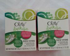 2X Olay Fresh Effects Hydrating Gel Moisturizer Anti-aging 50ml (New)