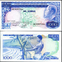 Thomas /& Prince 5,000 to 100,000 Dobras Banknotes St 2005-2013,UNC,Full Set