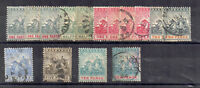 Barbados 1892-1903 Seal of Colony values to 10d MH and FU