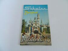 Schwinn takes a trip to Disneyland 1966 – 35 Pages