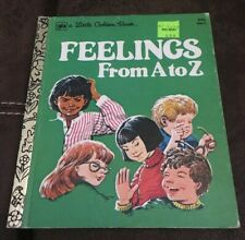A Little Golden Book Feelings From A to Z 1979