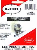 LEE 90162 45 ACP CASE LENGTH GAUGE & SHELL HOLDER