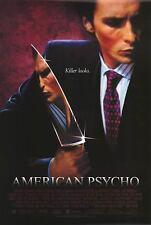 American Psycho Single  Sided Original Movie Poster 27x40