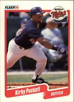 1990 Kirby Puckett Fleer Baseball Card #383