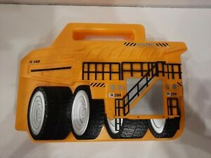 Roco Die-Cast Construction Vehicle Carrying Case Rare Realtoy