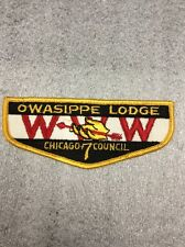 BSA 1950's Owasippe Lodge WWW Chicago 7 Council Flap