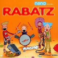 NENA - NENA MACHT...RABATZ  CD  25 TRACKS MODERNE KINDERLIEDER / POP  NEU