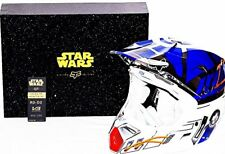 Fox Racing V3 STAR WARS R2-D2 Collectible Large Dirt Bike Helmet Rare #002/250
