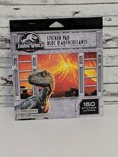 Jurassic World Fallen Kingdom Sticker Book 150 Stickers - NEW