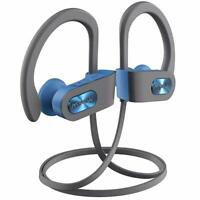 Mpow Sport Flame Bluetooth V4.1 Headphones Wireless Headset Earphone - Gray Blue