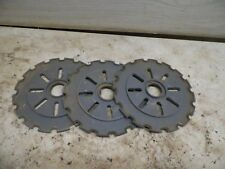 BUYING ONE ONLY  Old Lustran Farm Implement Seed Planter Plate C-16