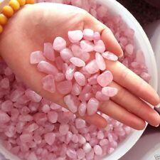 50g AA Natural Pink Rose Quartz Crystal Rocks Stones Cluster Specimen Healing