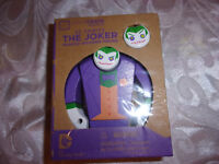 Batman The Joker DC Comics Loot Crate Painted Wooden Figure Collectible Toy