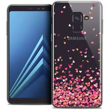 """Coque Gel Pour Galaxy A8+ (2018) A730 (6.0"""") Souple Sweetie Heart Flakes"""