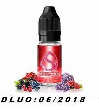 Lot de 2 flacons-e liquide CRAZY MAN - 10 ml- SAVOUREA -12 mg-DLUO:06/2018