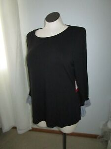VINCE CAMUTO 2X NWT BLACK TOP