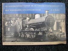 Stam NV Book De Stoomlocomotieven en de Locomotiefmodellen (Nederlands)