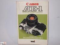 Canon AE-1 Program Das Buch zur Kamera von Ludwig Knülle 318 Seiten (Deutsch)