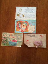Vintage Valentine & Baby Postcards
