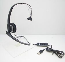 Plantronics Blackwire C210 Monaural DSP Computer USB Computer Headset 80298-03