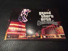 Grand Theft Auto San Andreas Las Venturas Postcard *RARE* *Only One*