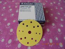 KOVAX Schleifscheiben  Körnung P 80 ,  150mm Karton , 50 Schleifscheiben