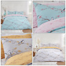 BLOSSOM Birds Perch Tree Oriental Reversible Duvet Quilt Cover Set Bedding Set