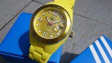 """Adidas Unisex-Armbanduhr Analog Quarz Silikon ADH6179 Gelb """"Seltenheit-Stylish"""""""